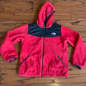 The North Face red Berry Osito hooded jacket 14